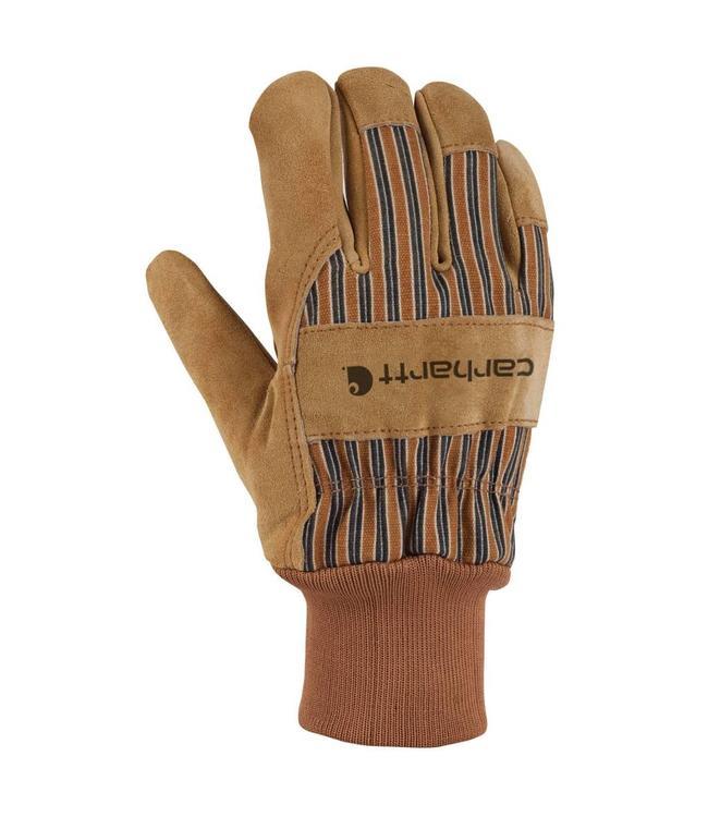 Carhartt Glove Work Knit Cuff Suede A551