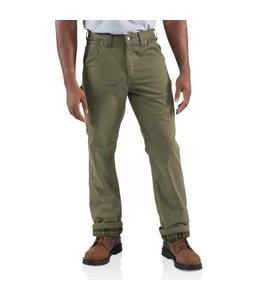 Carhartt Pant Relaxed Fit Washed Twill Flannel Lined 100070