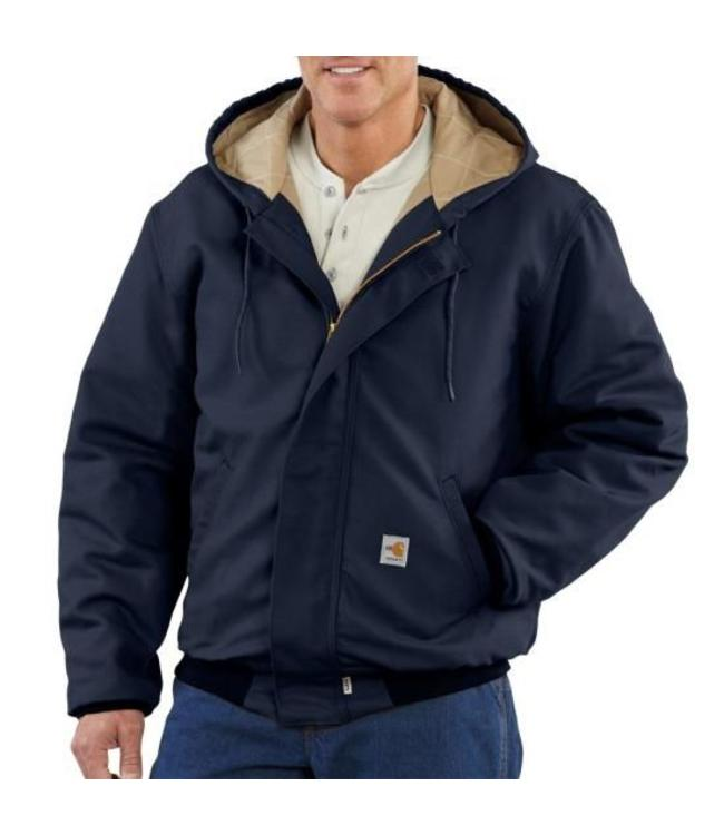 Carhartt Jacket Active Midweight Quilt-Lined Flame-Resistant 101622