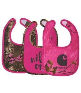 Carhartt Bib 3 Piece Gift Set Girls CB9100