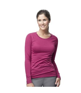 Carhartt Scrub Jersey Burn-Out Long Sleeve Women's C30109A