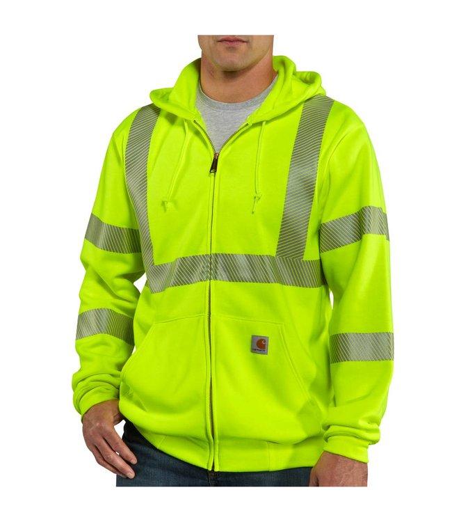 Carhartt Sweatshirt Class 3 High-Visibility Zip-Front 100503