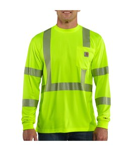 Carhartt T-Shirt Class 3 Long-Sleeve High-Visibility Force 100496
