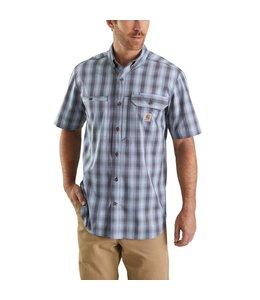 Carhartt Shirt Short-Sleeve Plaid Ridgefield Force 103549
