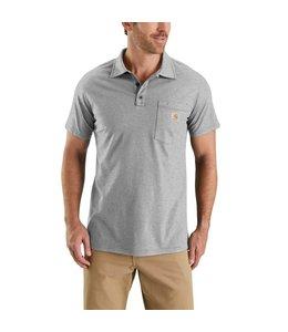 Carhartt Men's Force Cotton Delmont Pocket Polo 103569