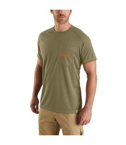 Carhartt T-Shirt Short-Sleeve Fishing Graphic Force 103570