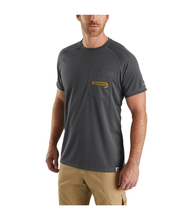 Carhartt T-Shirt Short-Sleeve Fishing Graphic Force 103570