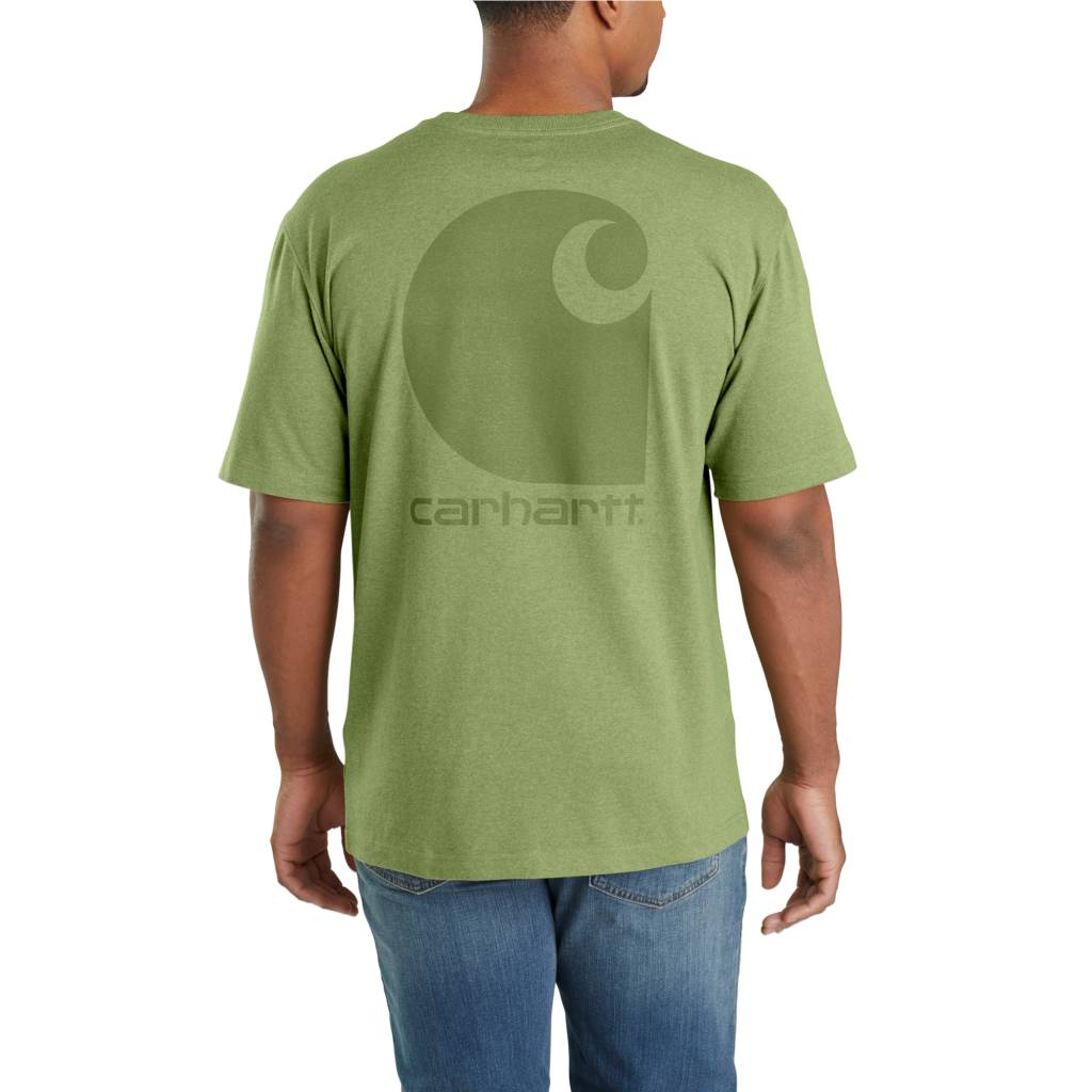 665263adc3 Carhartt T-Shirt Short-Sleeve Pocket Graphic C Logo Workwear 103559. prev