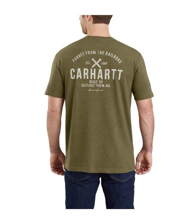 Carhartt T-Shirt Short-Sleeve Pocket Graphic Outlast Maddock 103562