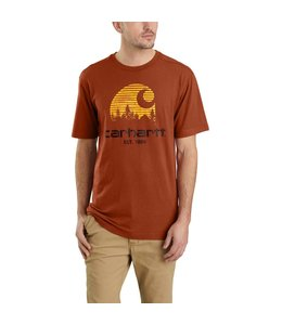 Carhartt T-Shirt Short-Sleeve Mountain C Graphic Maddock 103564
