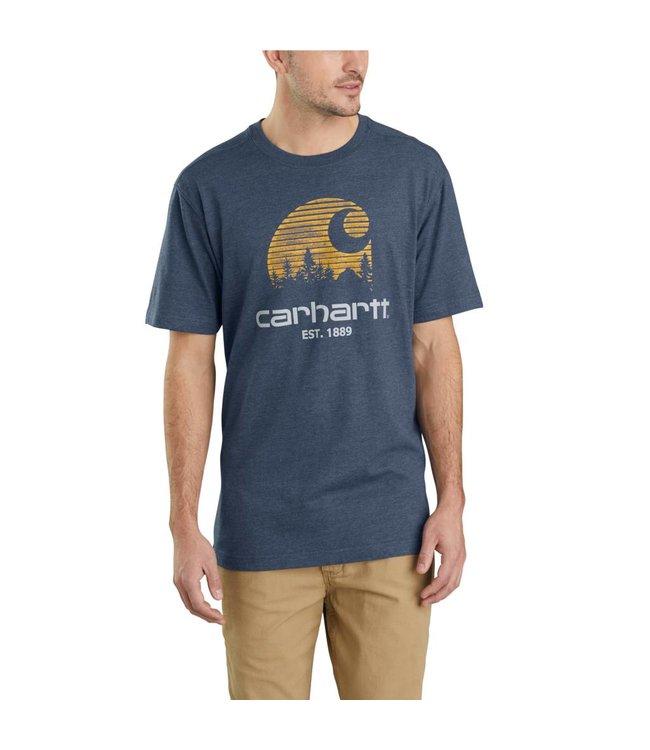 Carhartt T-Shirt Short-Sleeve Mountain C Graphic Maddock 103564
