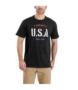 Carhartt T-Shirt Short-Sleeve USA Graphic Lubbock 103566
