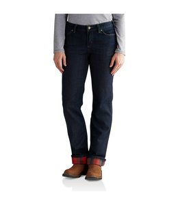 Carhartt Women's Original-Fit Blaine Flannel-Lined Jean 102729