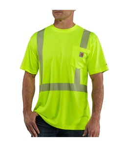 Carhartt T-Shirt Class 2 Short Sleeve High-Visibility Carhartt Force 100495