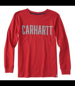 Carhartt Tee Long Sleeve Carhartt Block CA8893
