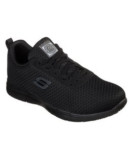 Skechers Work Relaxed Fit: Ghenter - Bronaugh SR 77210W BLK