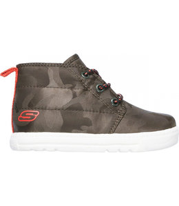 Skechers Lil Lad High Top Sneaker 96911N OLV