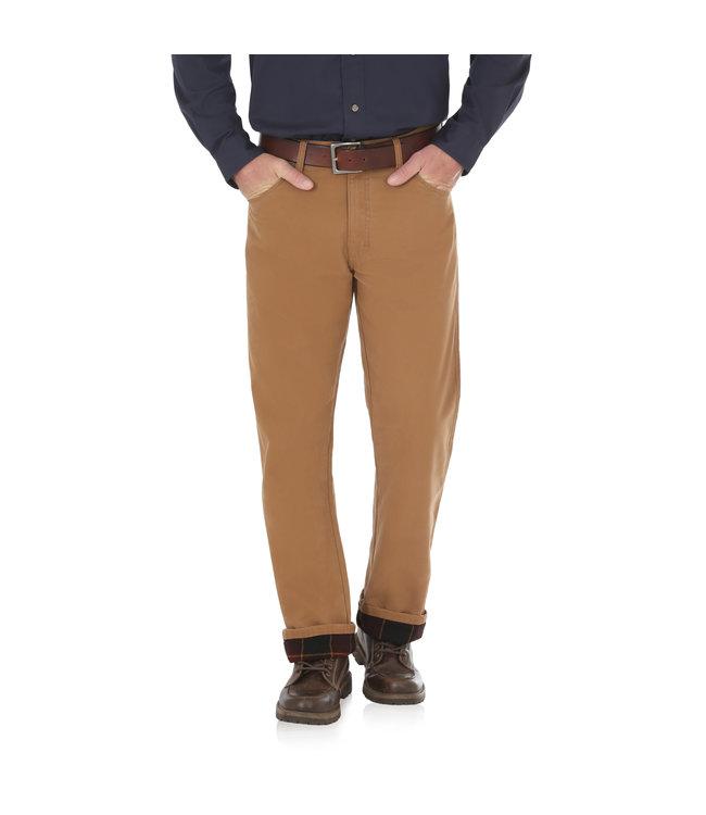 Wrangler Jean Flannel Lined Rugged Wear 35003AN