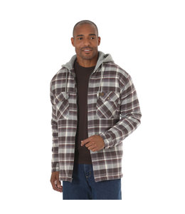 Wrangler Jacket Flannel Hooded Riggs Workwear 3W802CH