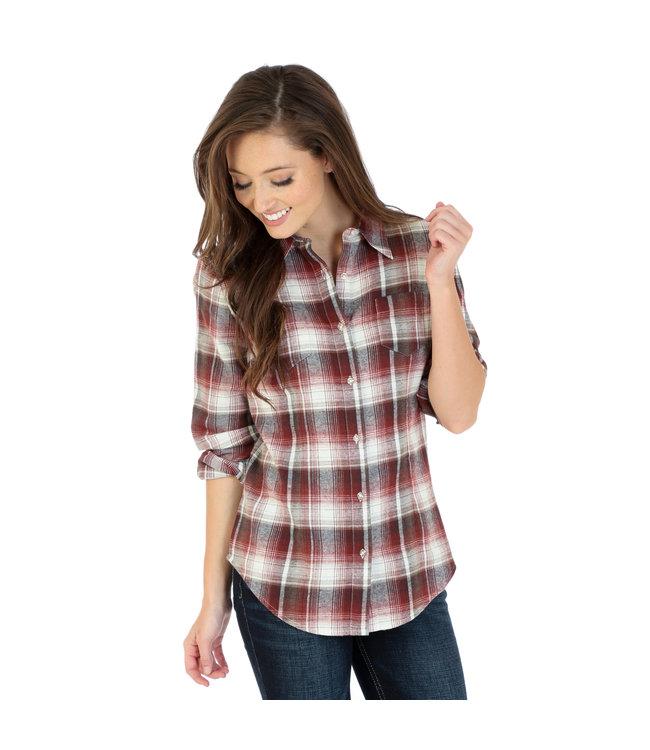 Wrangler Shirt As Real As Wrangler LRW429M