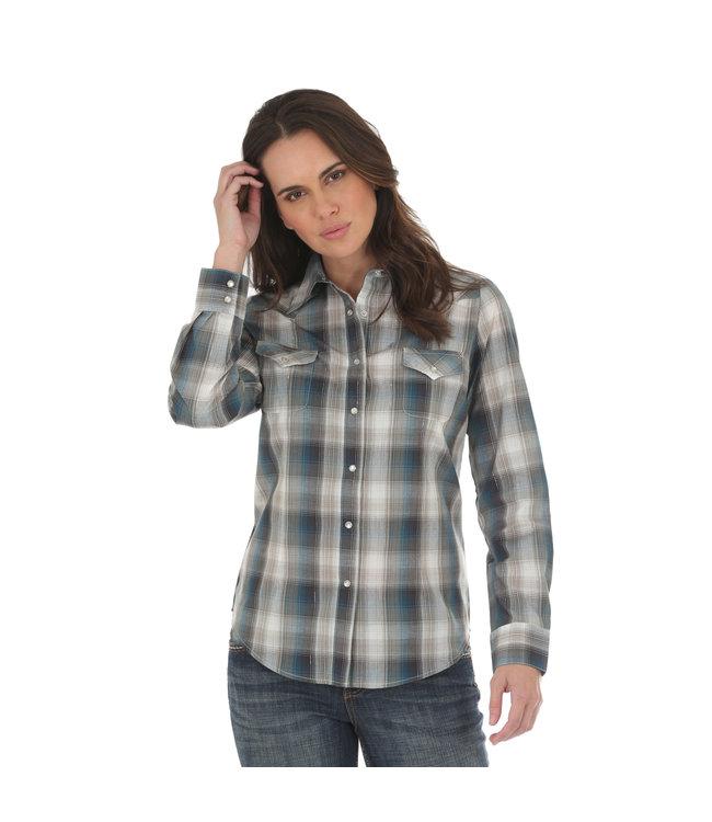 Wrangler Shirt As Real As Wrangler LRW432M