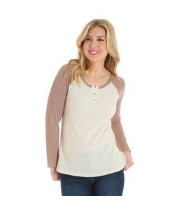 Wrangler Shirt Tough Enough To Wear Pink LRWK45M