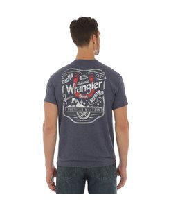 Wrangler Tee Back Graphic Chest Logo MQ1101N