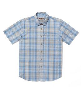 Wrangler Shirt Short Sleeve Performance Series Rugged Wear RWPS1CB