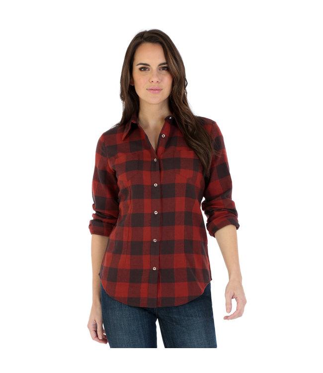Wrangler Shirt As Real As Wrangler LRW430M