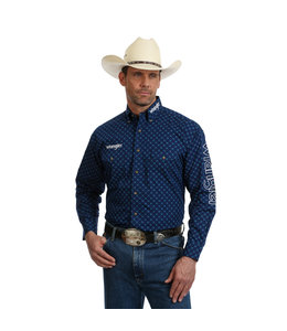 Wrangler Shirt Long Sleeve Wrangler Logo MP2344B