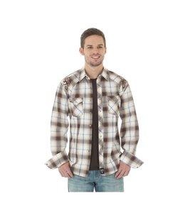 Wrangler Shirt Western Long Sleeve Rock 47 MRC301M