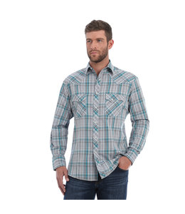Wrangler Shirt Long Sleeve Snap Fashion MVG221M