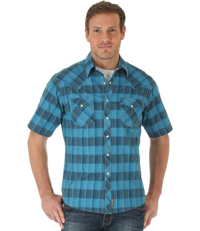Wrangler Shirt Short Sleeve Retro MVR291M
