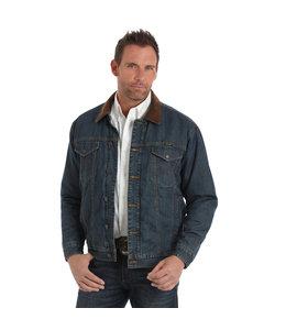 Wrangler Jacket Blanket Lined Denim Concealed Carry 74265CD