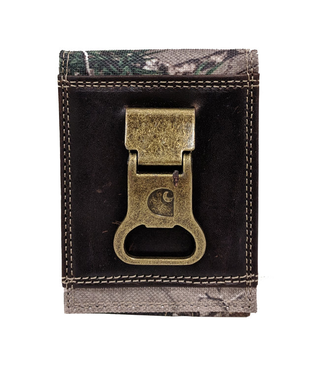 Carhartt Wallet Front Pocket Camo With Bottle Opener 61-CH2247