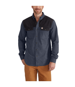 Carhartt Shirt Long Sleave Burleson Heather 102876