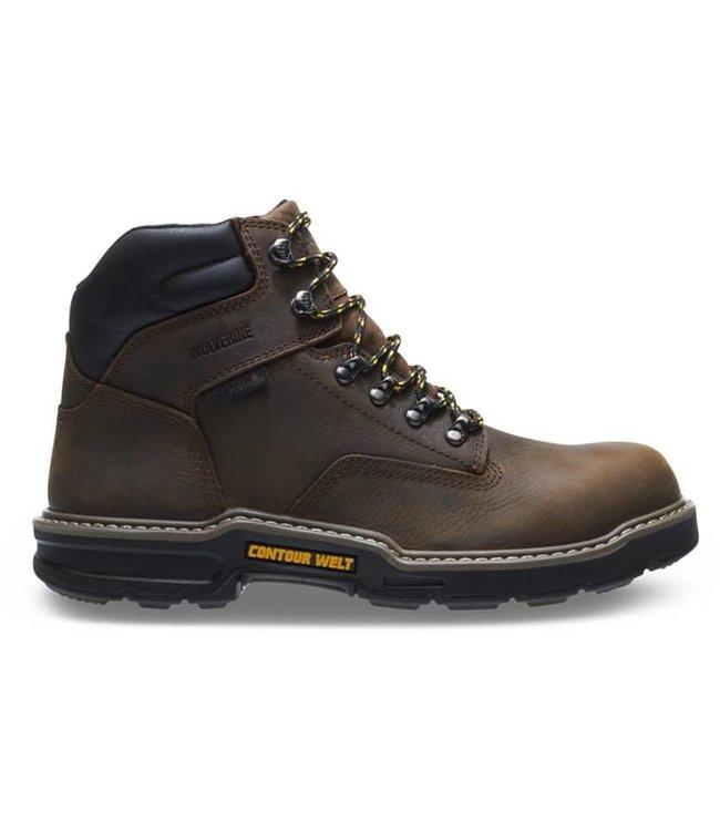 """Wolverine Boot 6"""" Waterproof Soft Toe Bandit W10862"""