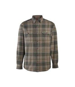 Wolverine Shirt Flannel Long Sleeve Heavyweight Glacier W1205850