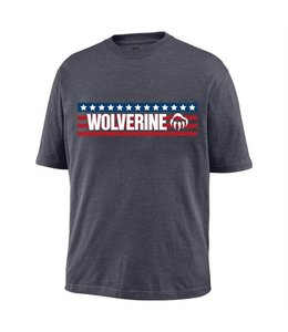 Wolverine Tee Graphic Short Sleeve Block Print Logo W1205860