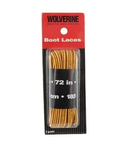 Wolverine Boot Laces Gold 72 Inch W69411