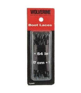 Wolverine Boot Laces Black 54 Inch W69413