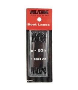 Wolverine Boot Laces Black 63 Inch W69414