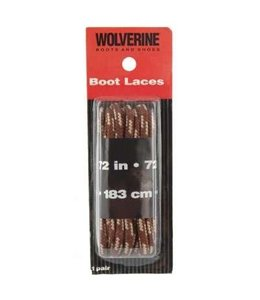 Wolverine Boot Laces Brown 72 Inch W69419