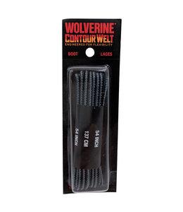 Wolverine Boot Laces Contour Welt Black 54 Inch W69641