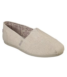 Skechers Bobs Plush - Best Wishes Wide Fit 33904W NAT