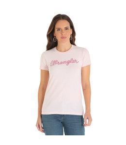 Wrangler T-Shirt Graphic Script Logo LWK260K