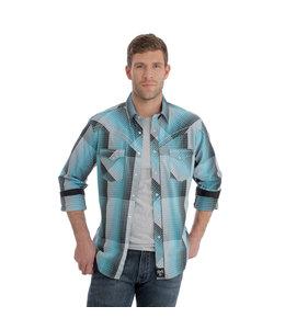 Wrangler Shirt Long Sleeve Rock 47 by Wrangler MRC364M