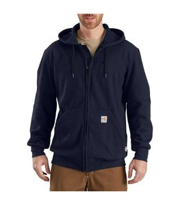 Carhartt Sweatshirt Zip Front Hooded Heavyweight Flame Resistant 102908