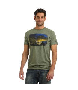 Wrangler T-Shirt Premium Retro MVQ320G