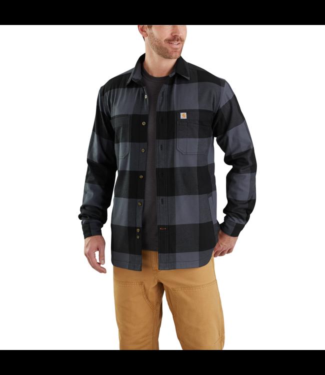 Carhartt Shirt Jac Fleece-Lined Hamilton Rugged Flex 103315